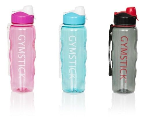 Water bottle / grey-red - water bottle