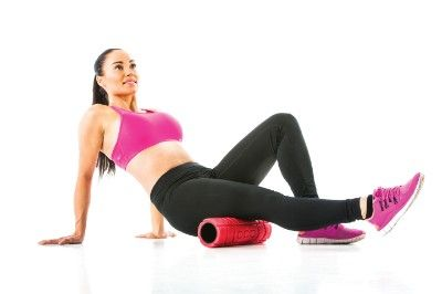 TRAVEL ROLLER WITH MYOFASCIA BALL -