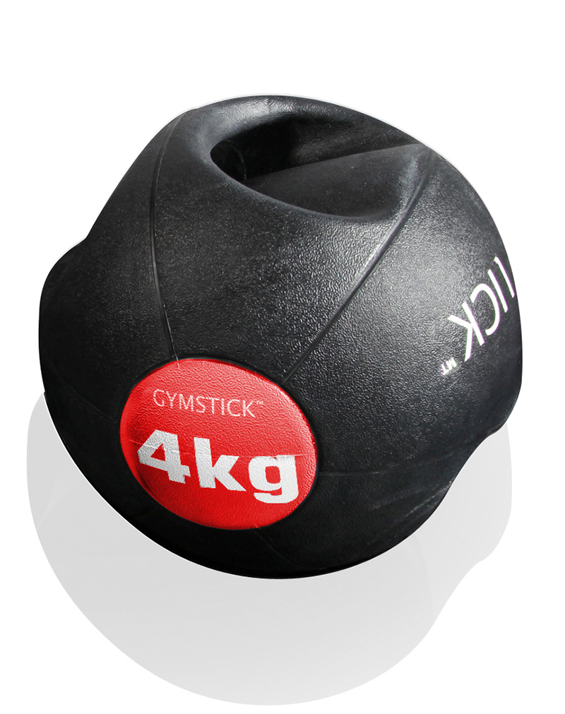 MEDICINE BALL WITH HANDLES 4KG -