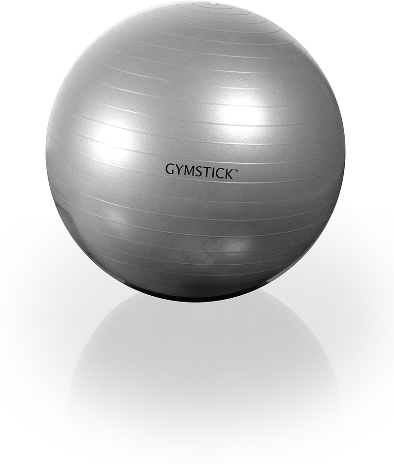 EXERCISE BALL 75cm + DVD -